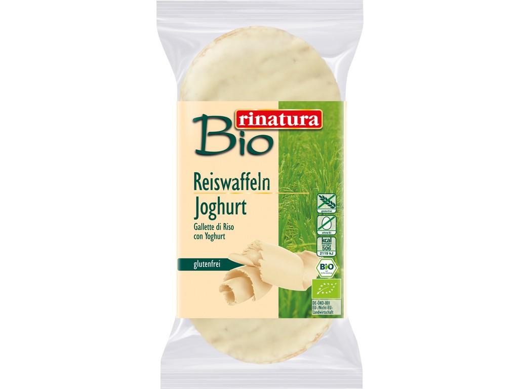 Rinatura Bio chlebíček rýžový s jogurtem 100g