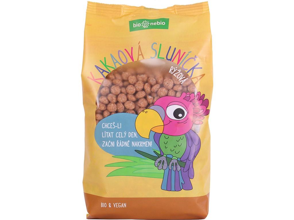Bio nebio Bio kakaová sluníčka rýžová 200 g