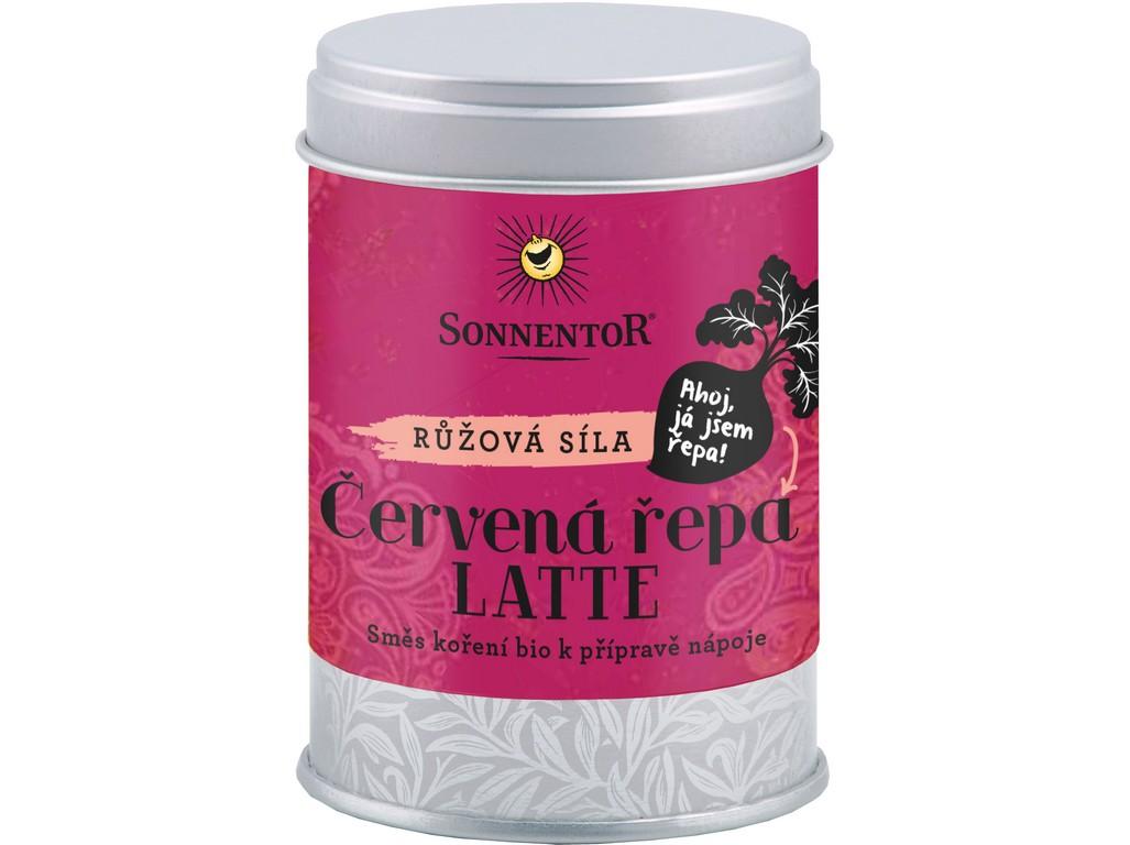 SONNENTOR Bio Červená řepa Latte 70g dóza (pikantní kořenící směs)