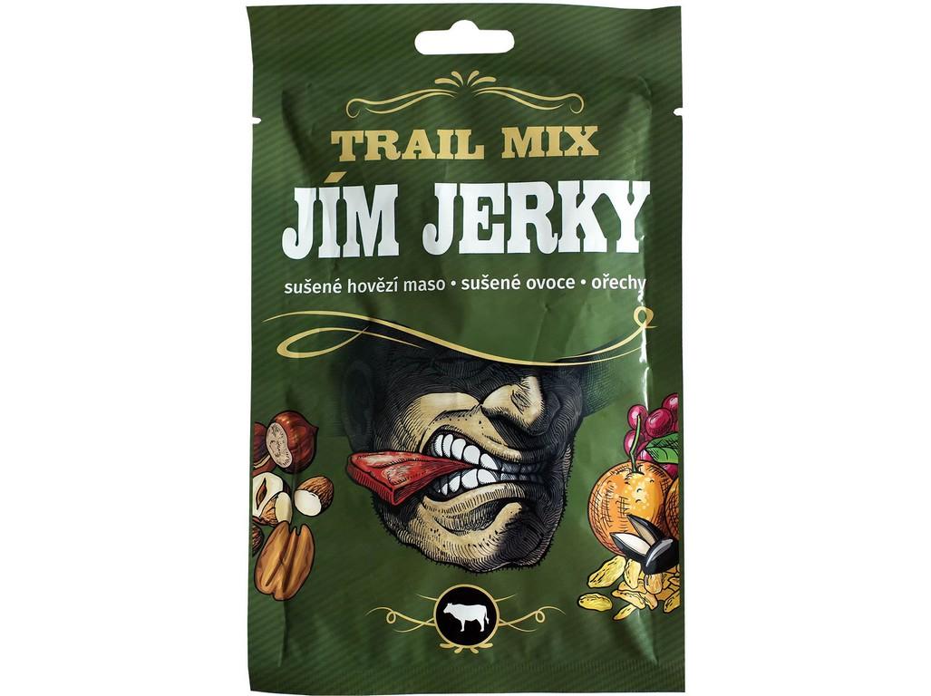 JimJerky.cz Jerky Trail mix hovězí 35 g B30