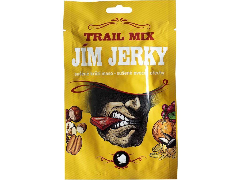 JimJerky.cz Jerky Trail mix krůtí 35g B30