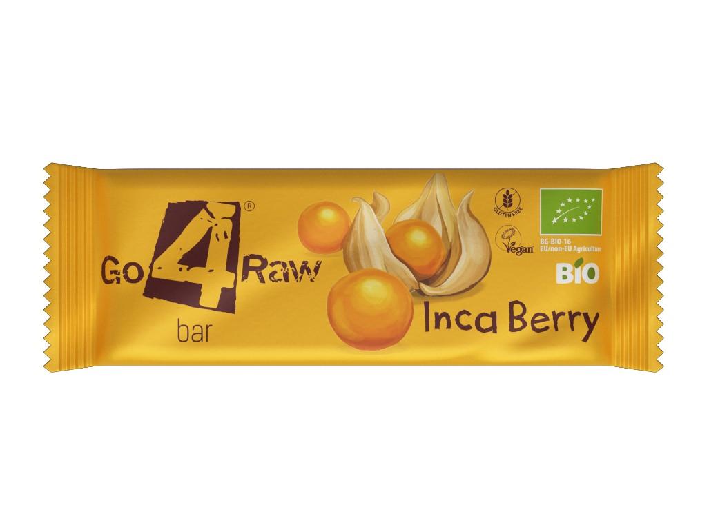 GO4RAW Bio tyčinka INCA BERRY 25g
