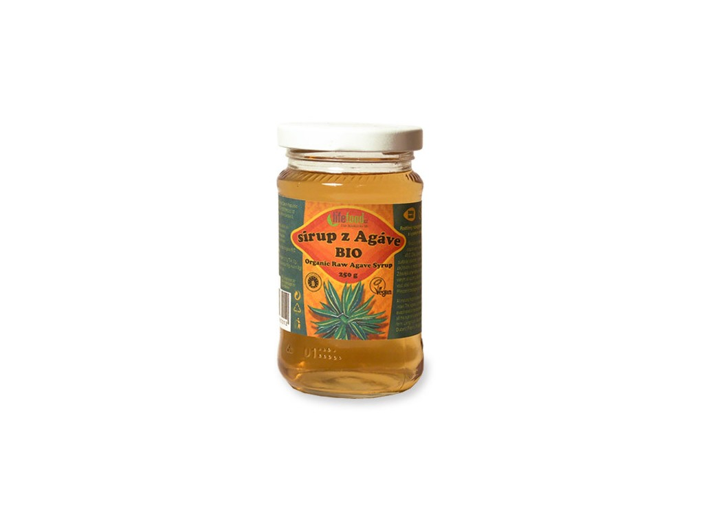 Lifefood Bio Sirup z agáve 250g