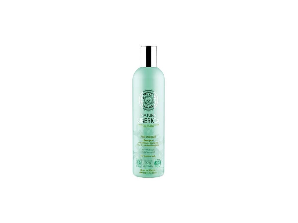 """Natura Siberica Šampon pro citlivou pokožku hlavy """"Proti lupům"""" 400 ml"""
