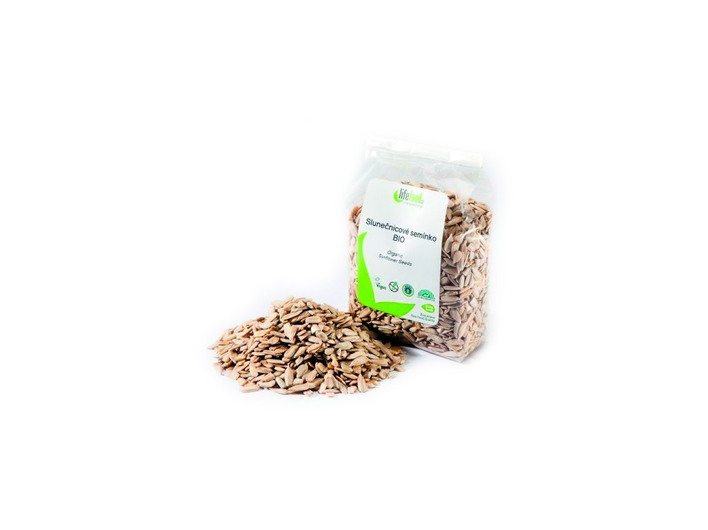 Lifefood Bio Slunečnicové semínko 200 g
