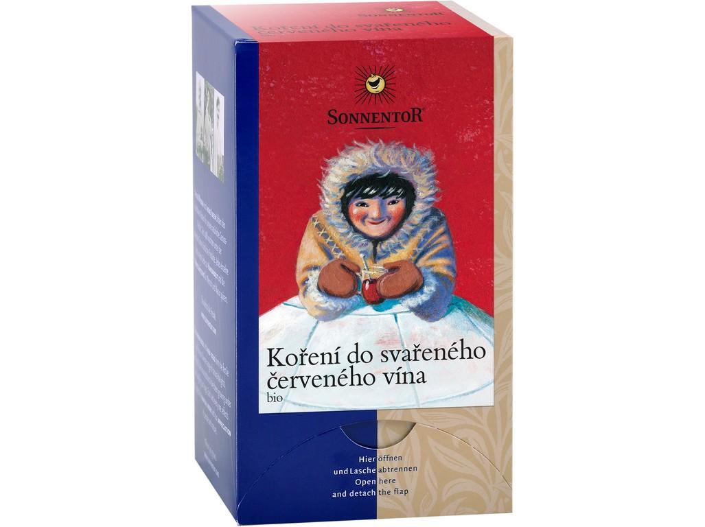 SONNENTOR Bio Koření do svařeného červeného vína dvoukomorový 36 g