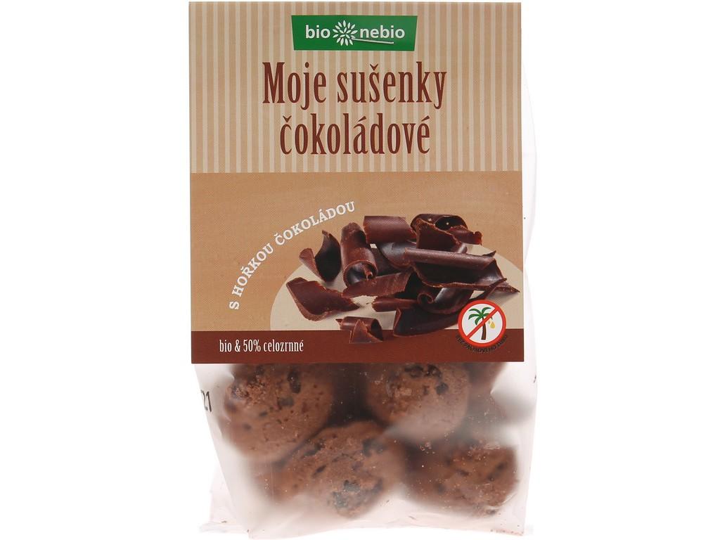 Bio nebio Bio Moje sušenky čokoládové 130g