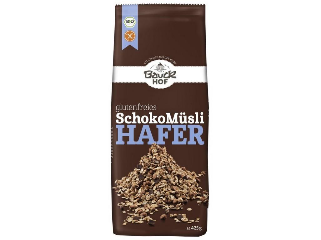 Bauck hof Bio Musli ovesné čokoládové bezlepkové 425g