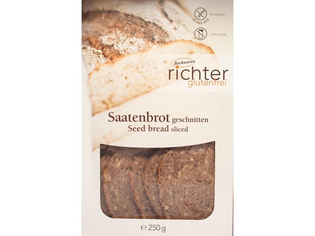Richter Chléb semínkový krájený (2x125g) 250g