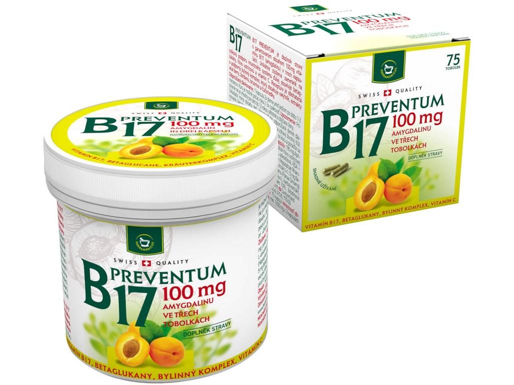 Herbamedicus B17 Prevenum 75 tobolek
