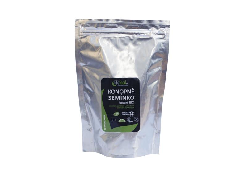 Lifefood Bio Konopné semínko loupané 250 g