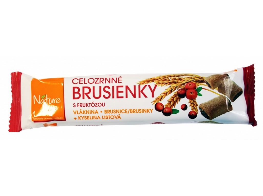 Nature Line Brusinky celozrnné sušenky 65g