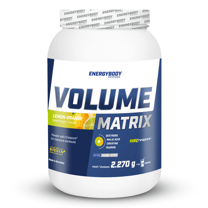 EnergyBody Volume Matrix 2,27kg pomeranč-citron