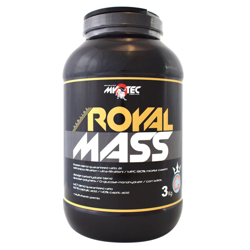 MyoTec Royal Mass 3kg Jméno: Royal Mass 3kg vanilka