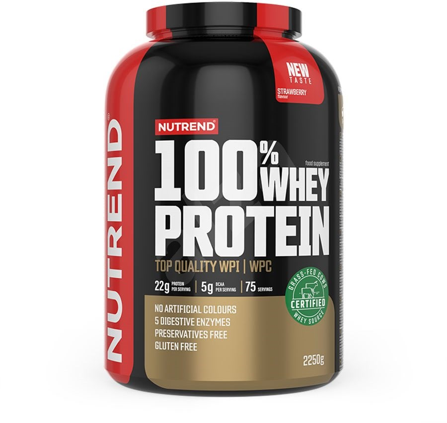 Nutrend 100% Whey Protein 2,25kg + BCAA Mega Strong 300g ZDARMA Jméno: 100% Whey Protein 2,25kg banán + BCAA Mega Strong 300g ZDARMA