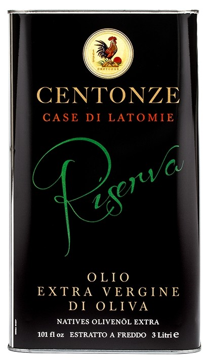 Centonze Riserva Extra Virgin Olive Oil 3l