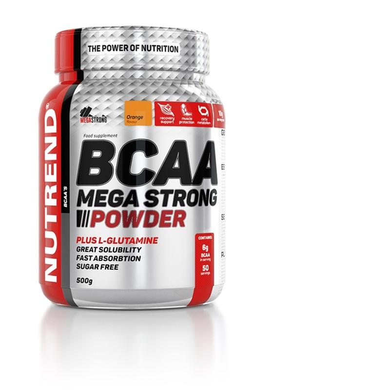 Nutrend BCAA Mega Strong Powder 500g Jméno: BCAA Mega Strong Powder 500g pomeranč