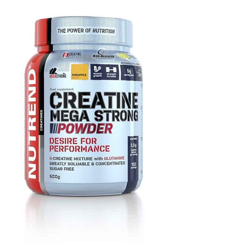 Nutrend Creatine Mega Strong Powder 500g Jméno: Creatine Mega Strong Powder 500g punč-lesní plody