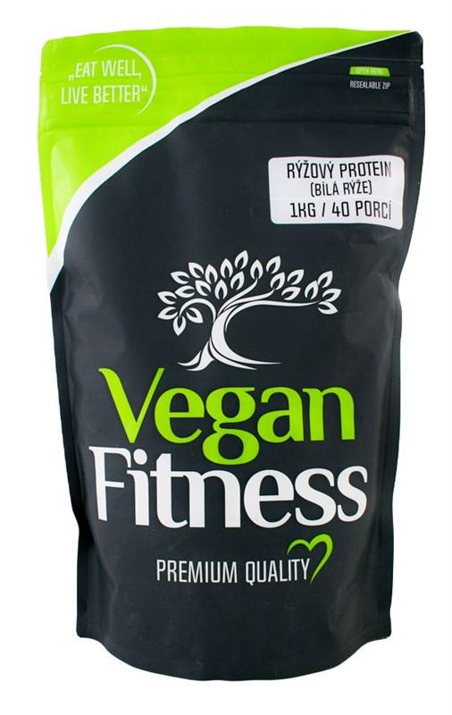 Vegan Fitness Rýžový protein 1kg (bílá rýže)