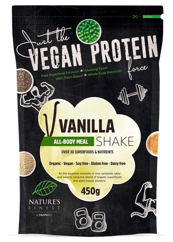 Nutrisslim All-Body Meal Shake 450g Jméno: All-Body Meal Shake 450g vanilka