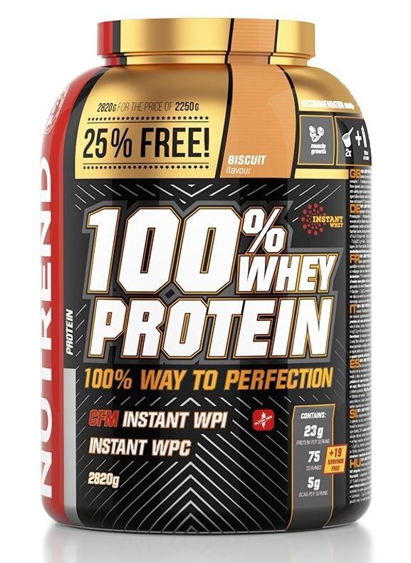 Nutrend 100% Whey Protein 2,82kg Jméno: 100% Whey Protein 2,82kg ledová káva