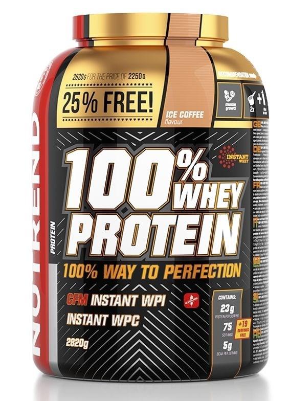 Nutrend 100% Whey Protein 2,82kg Jméno: 100% Whey Protein 2,82kg čokoláda-kakao