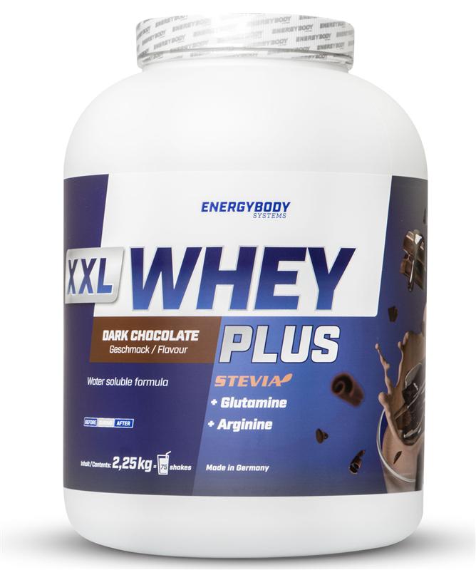 EnergyBody XXL Whey Plus Protein 2,25kg čokoláda