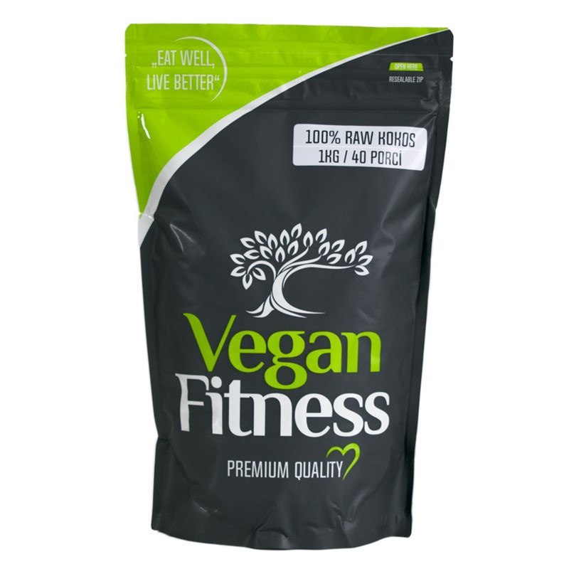 Vegan Fitness 100% RAW Kokos 1kg