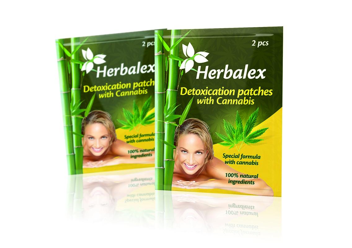 Herbalex Detoxikační náplasti s konopím