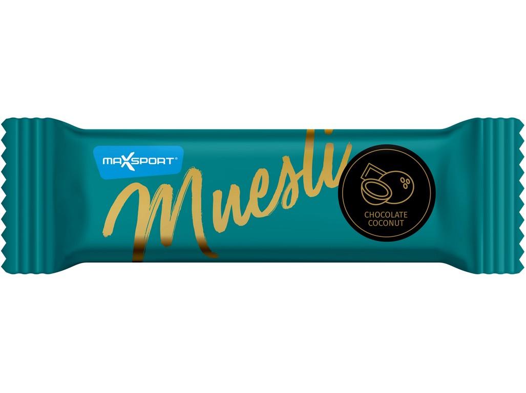 Max sport Muesli kokos čokoláda 30g