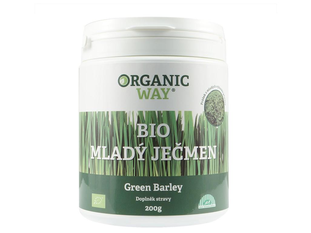 Organic way Bio Mladý ječmen 200g prášek