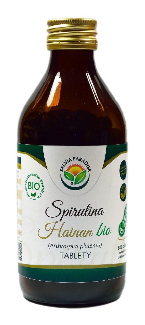 Salvia Paradise Spirulina Hainan tablety BIO Balení: 800 ks