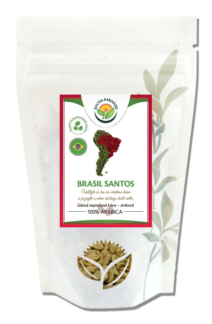 Salvia Paradise Káva - Brasil Santos zelená nepražená Balení: 250 g