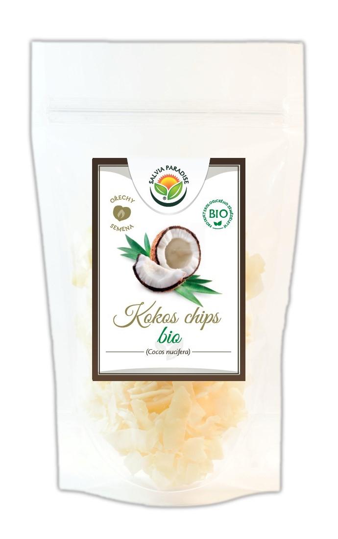 Salvia Paradise Kokos plátky - chipsy BIO Balení: 100 g