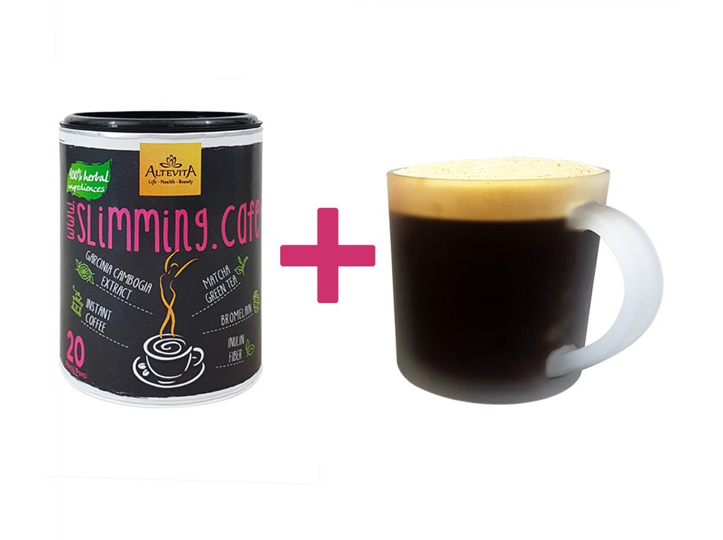 Altevita Slimming cafe skořice 100g + hrneček ZDARMA