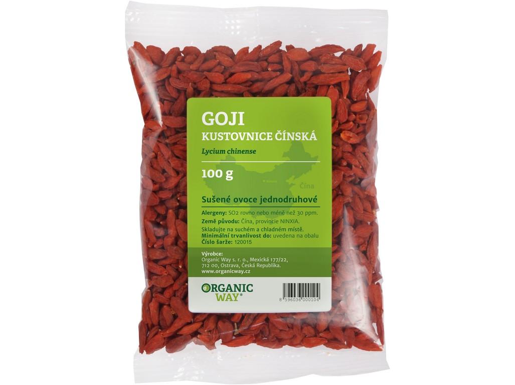 Organic way Goji - Kustovnice čínská 100g