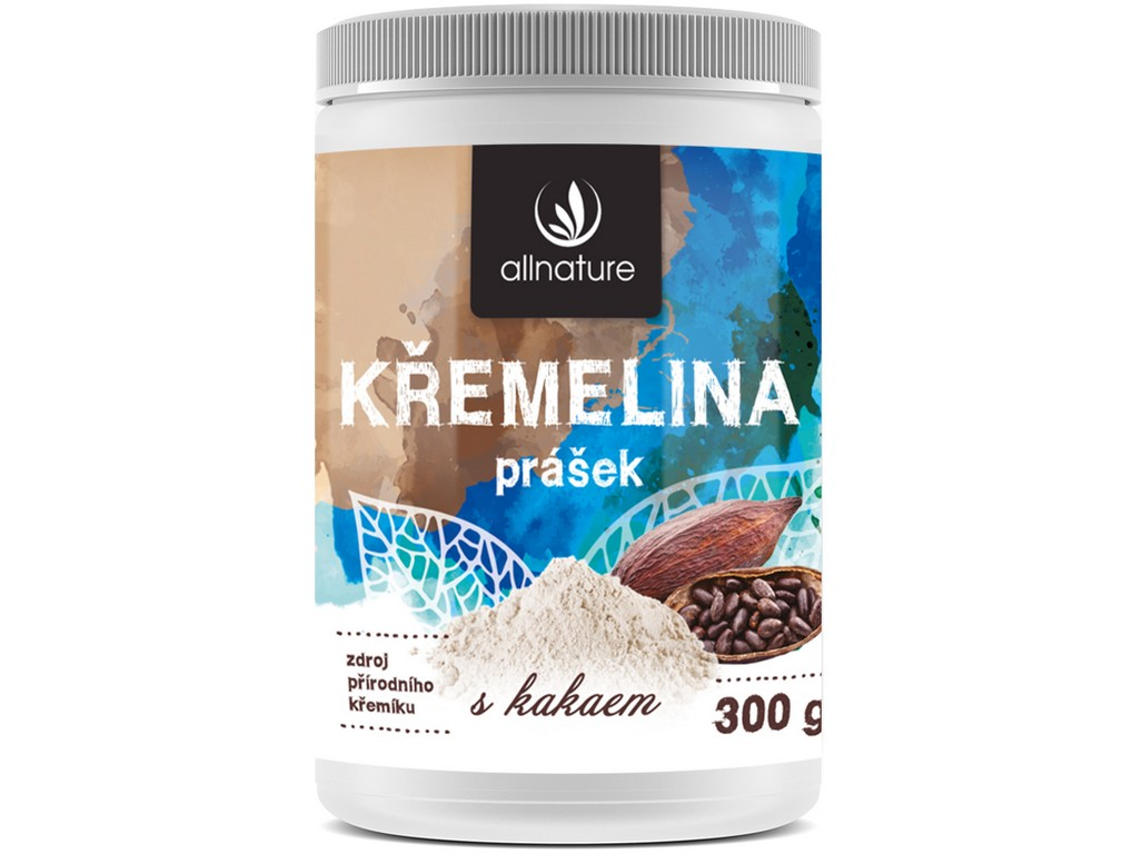 Allnature Křemelina kakao 300g