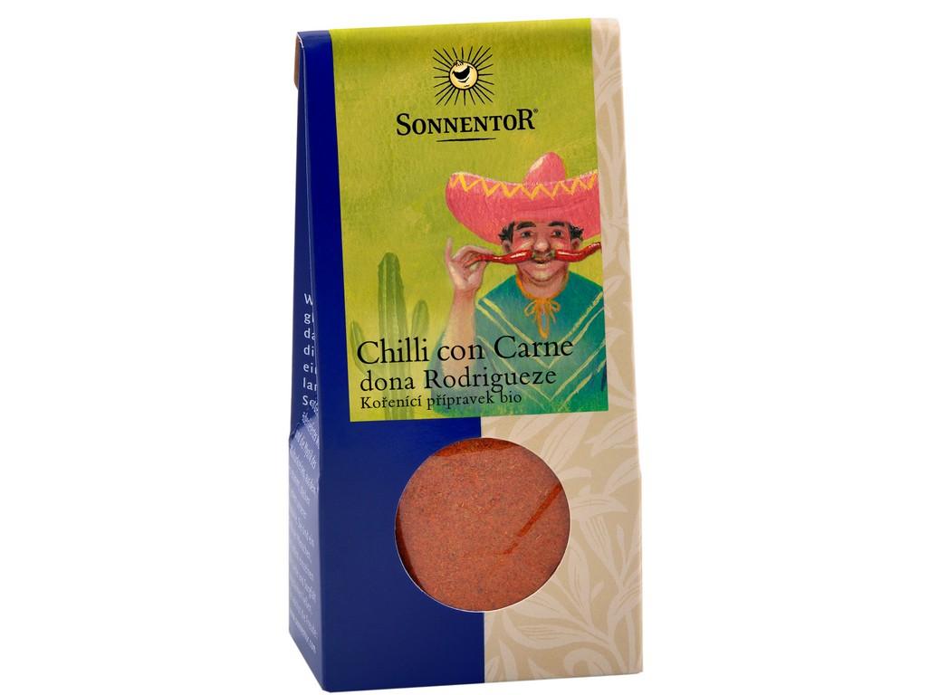 SONNENTOR Bio Chilli con Carne dona Rodrigueze 40g
