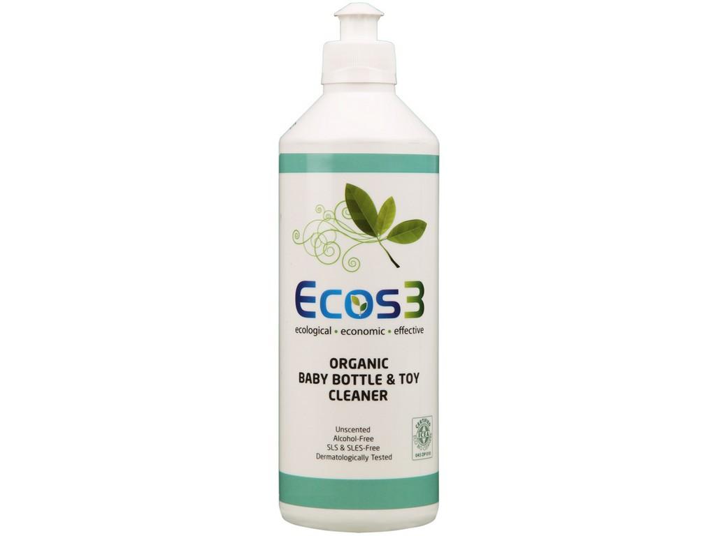 ECOS3 Bio Ekologický čistič hraček, dětských lahví, nádobí 500 ml