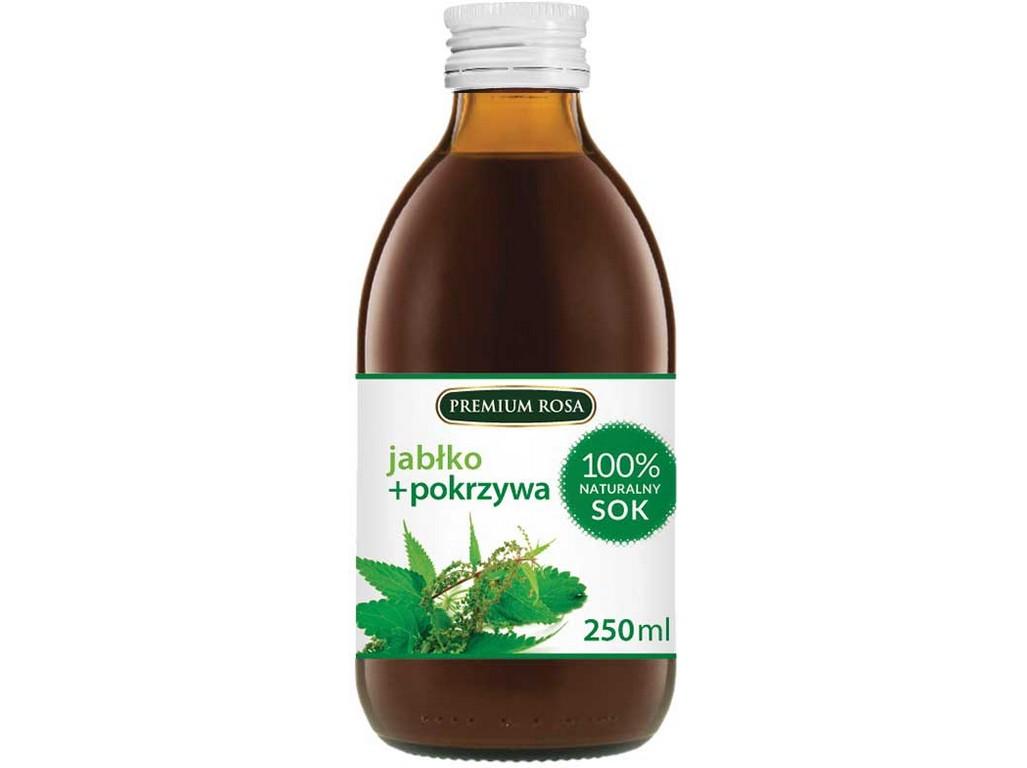 PREMIUM ROSA Bylinný nápoj s jabl. šťávou - Kopřiva 250 ml