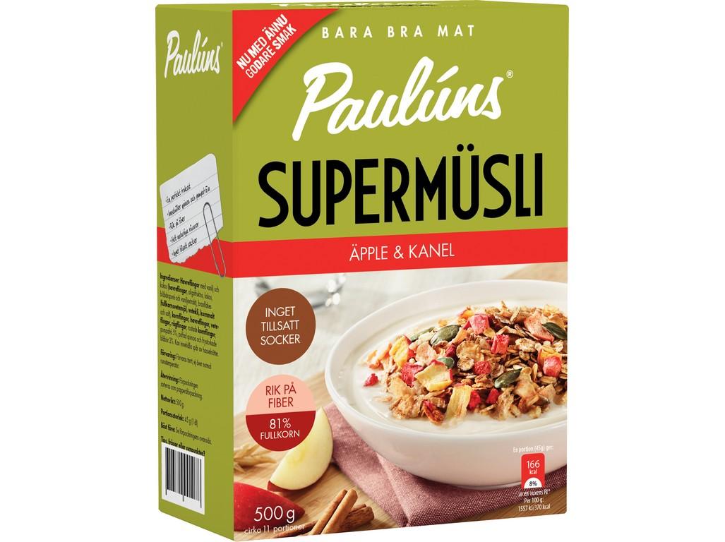 Paulúns Müsli s jablky a skořicí 500g