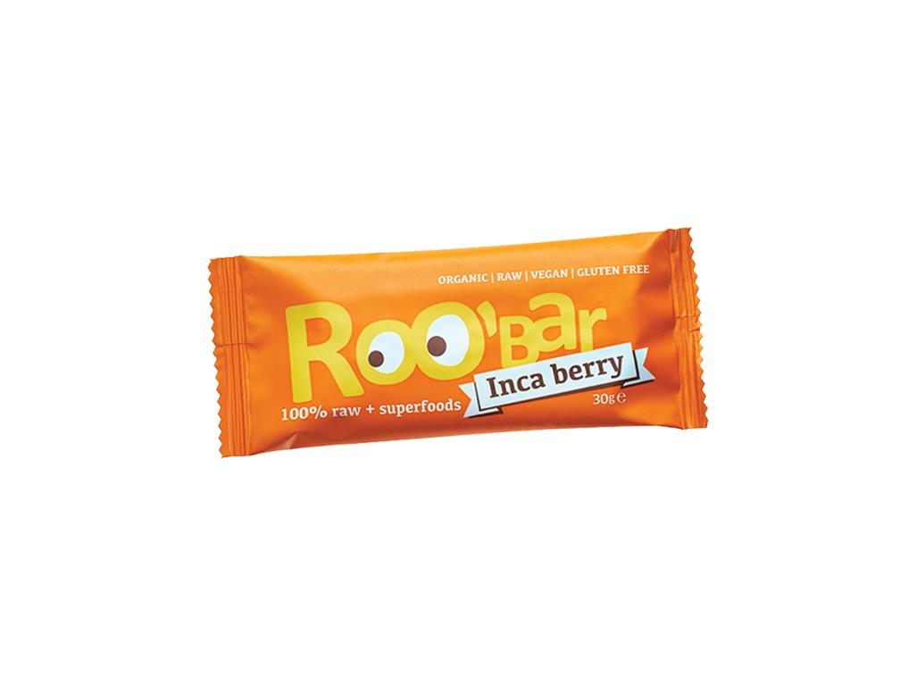 Dragon superfoods Bio tyčinka Roobar Datlová mochyně pomeranč 30g RAW