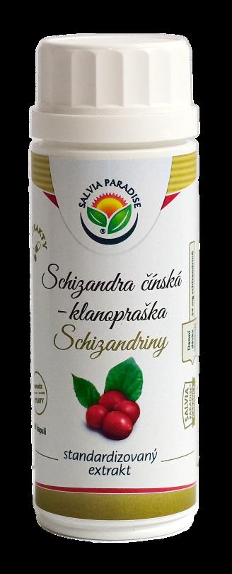 Salvia Paradise Schizandra standardizovaný extrakt kapsle 60 ks