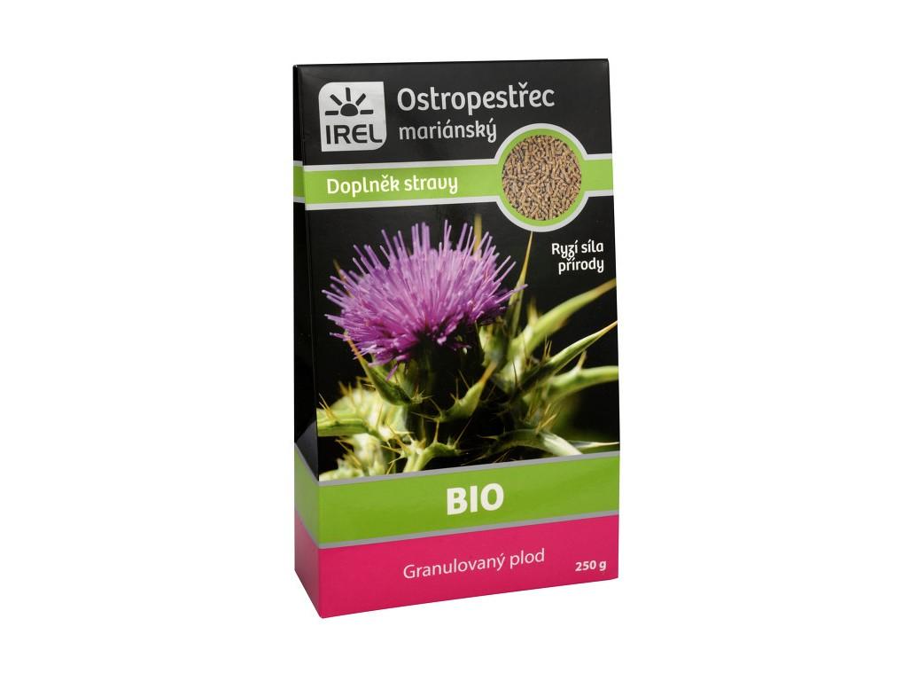 Irel Bio Granulovaný plod z ostropestřce mariánského - krabička 250g