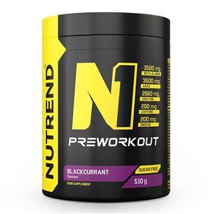 Nutrend N1 Pre-Workout 510g Jméno: N1 Pre-Workout 510g grep