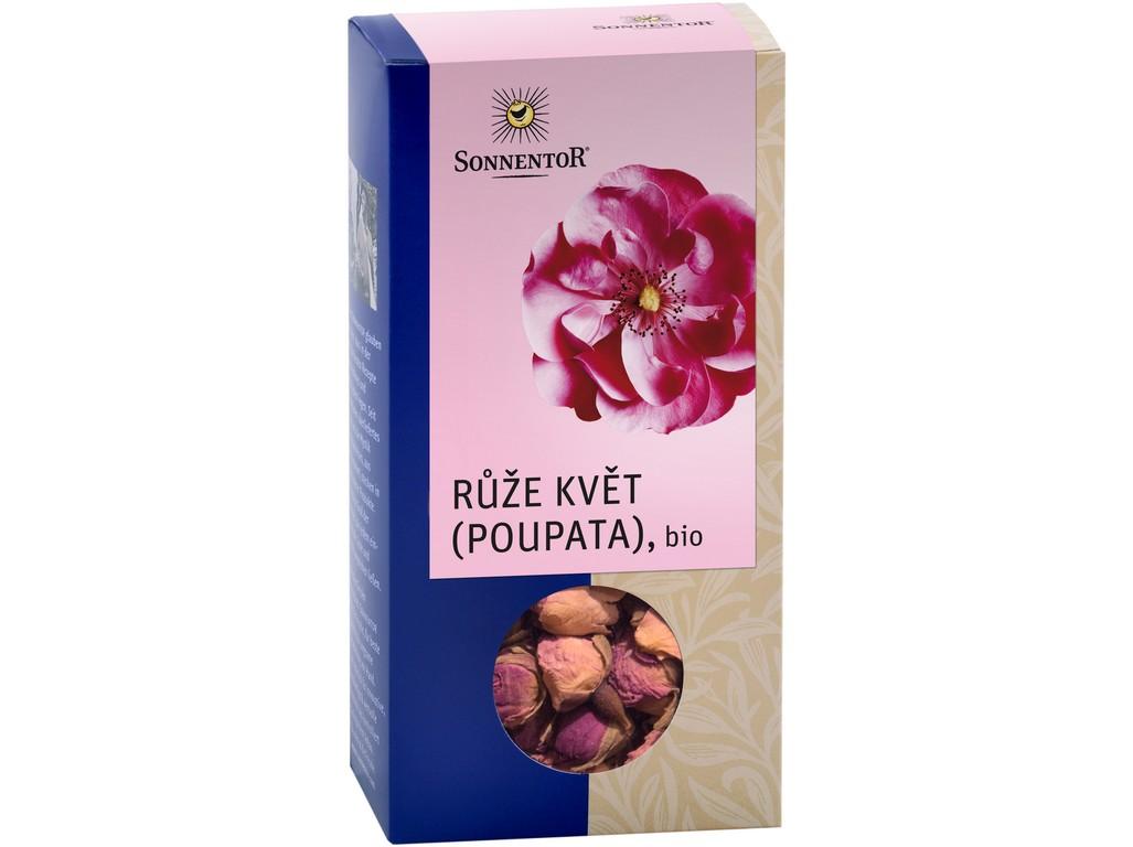 SONNENTOR Bio Růže květ (poupata) syp. 30g