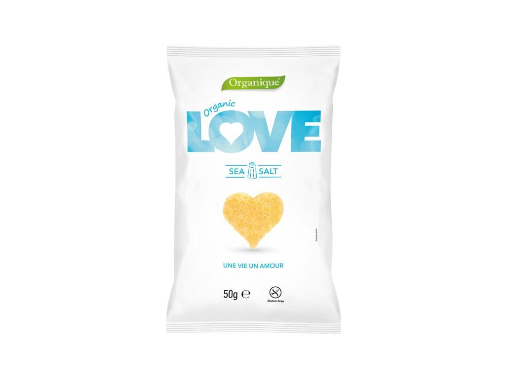 Organique Bio Snack kukuřičný Srdce 50g