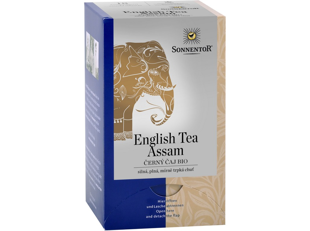 SONNENTOR Bio Černý čaj English Tea Assam 36g