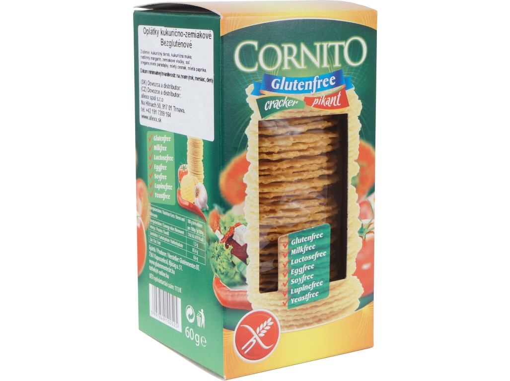 Cornito Krekry pikantní bezlepkové 60g