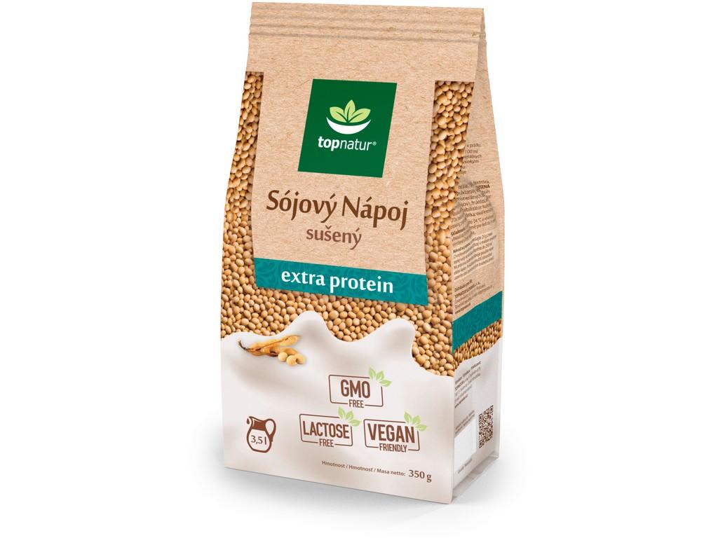 Topnatur Sojový nápoj extra protein 350 g